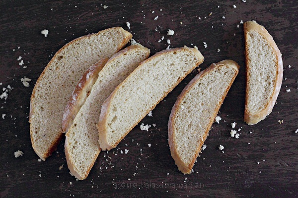 Easy White Bread Slices