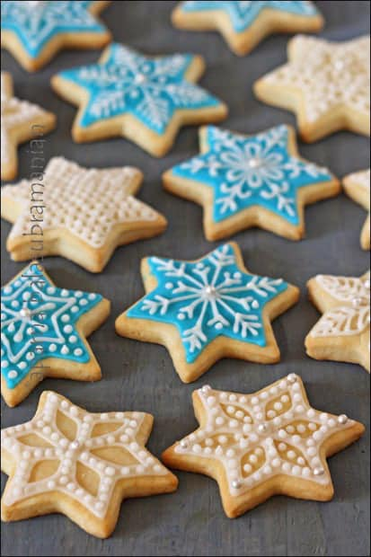 Egg Free Snowflake Or Star Cookies Recipe My Diverse