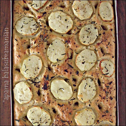 Potato Focaccia Pugliese - An Italian Flatbread Recipe | My Diverse ...