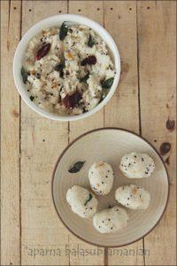 Uppuma kozhakattai Steamed Rice Dumpling