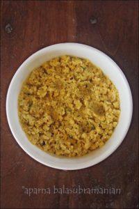 Parippuvadai/ Aamavadai or Lentil Fritters