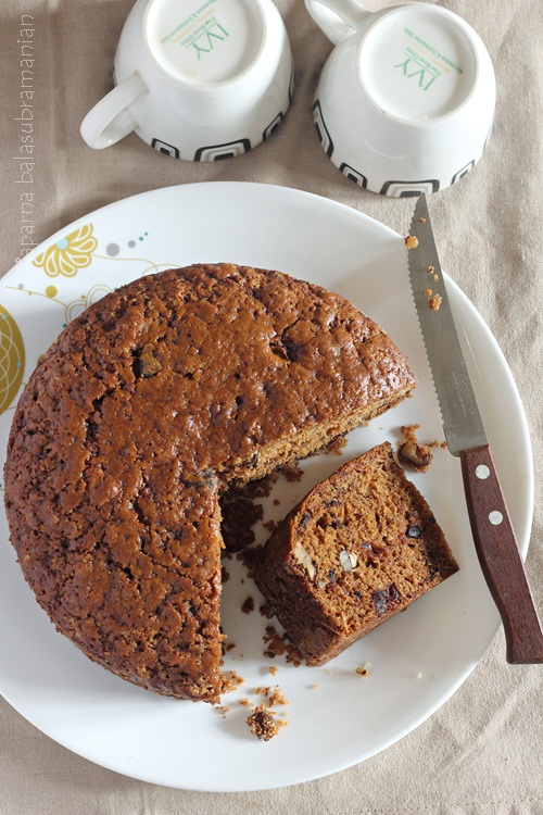 Date And Walnut Cake Recipe Easy