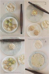 Aloo Parathas or Potato Stuffed Flatbreads