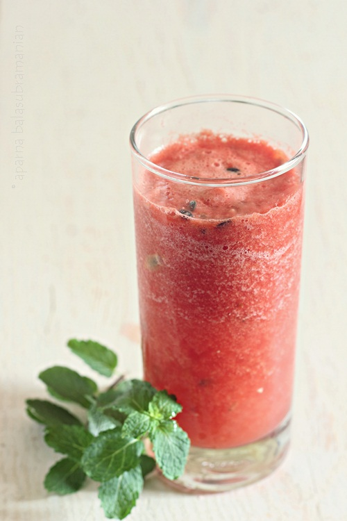 Watermelon Passion Fruit Cooler