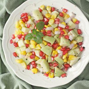 Guava & Sweet Corn Salad