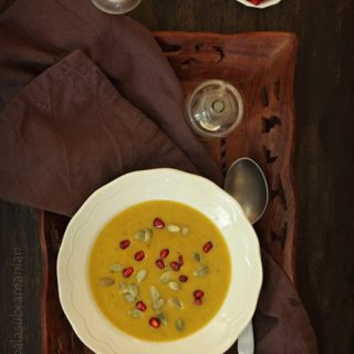 Creamy Roasted Pumpkin Soup